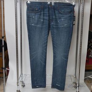 New True Religion Straight Jeans 46x35